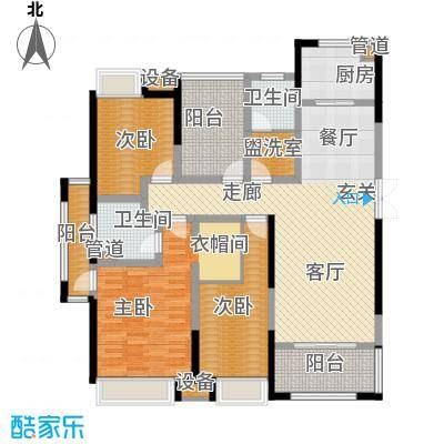 正荣财富中心143.00㎡B1户型