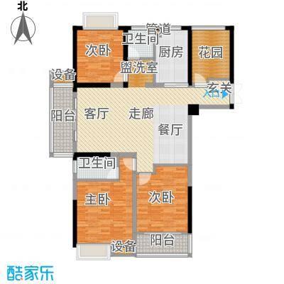 正荣财富中心142.00㎡A1户型