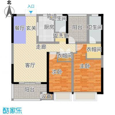 正荣财富中心106.00㎡B2户型