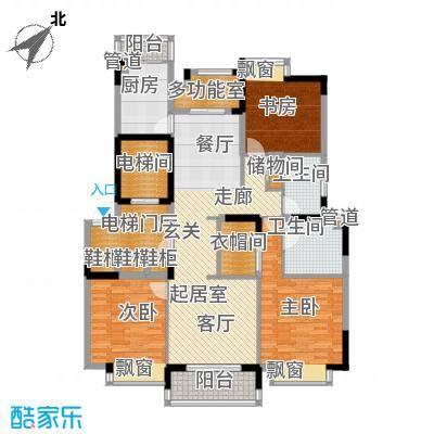 嘉里云荷廷139.00㎡C1户型