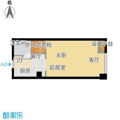 江与城63.03㎡G户型