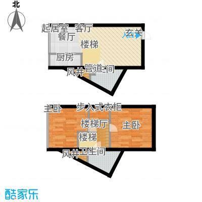 鑫秋大厦47.00㎡C1户型