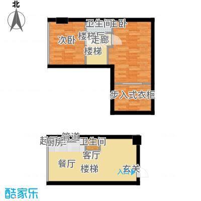 鑫秋大厦50.95㎡A1C户型