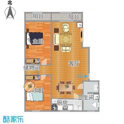 2室2厅一卫