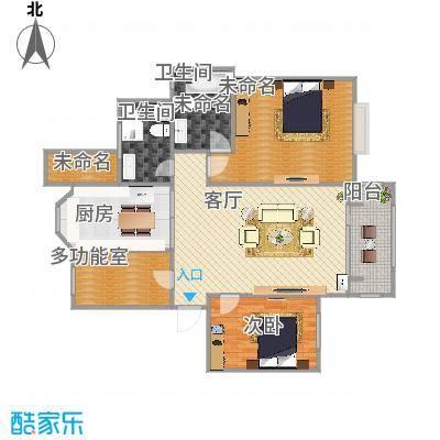120平米洋房