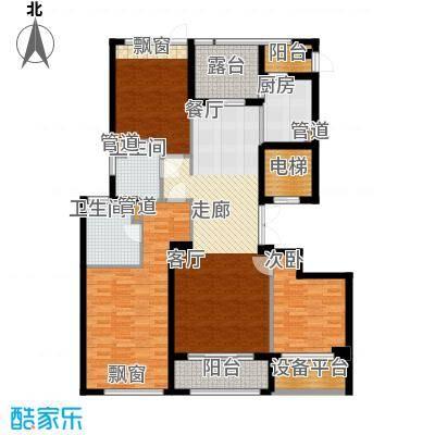 裕丰青鸟香石公寓139.19㎡北区户型