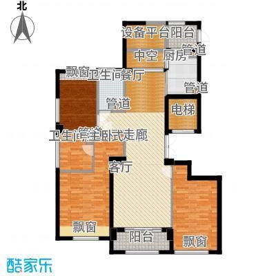 裕丰青鸟香石公寓139.46㎡北区户型