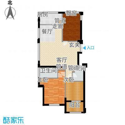 裕丰青鸟香石公寓139.19㎡南区A3户型