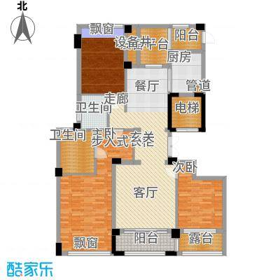裕丰青鸟香石公寓139.98㎡北区A3户型