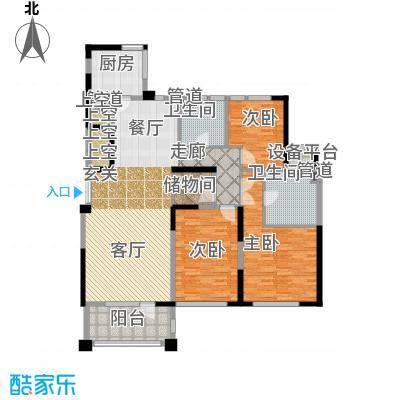 新湖武林国际公寓182.00㎡3号楼F户型