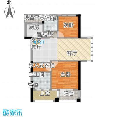 新湖武林国际公寓134.00㎡1号楼a户型