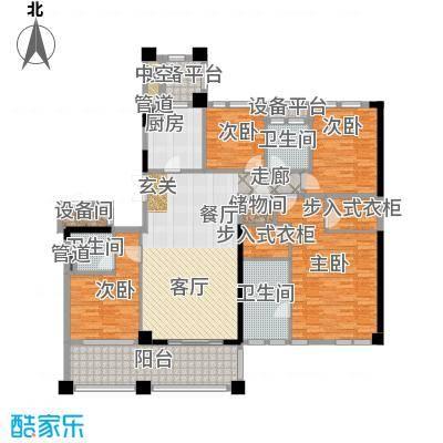 新湖武林国际公寓192.00㎡2号楼D户型