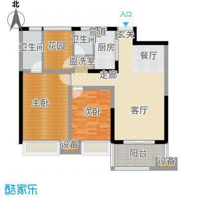 正荣财富中心112.00㎡A2户型