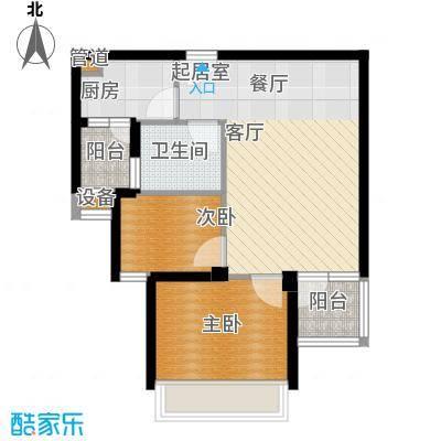 鑫瑞小城故事64.75㎡面积6475m户型