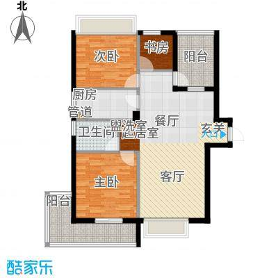 鑫瑞小城故事102.47㎡面积10247m户型