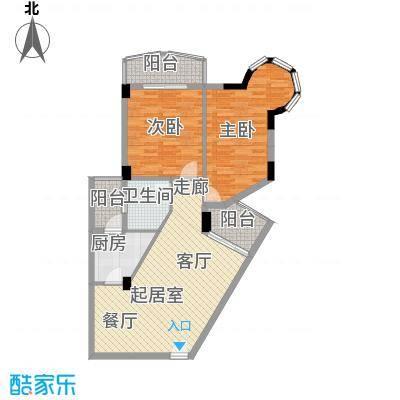 海滨城二期丽港新都102.51㎡C户型