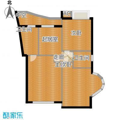 汉水熙园复式1上层户型
