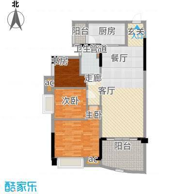 碧桂园温泉城104.28㎡J355C户型