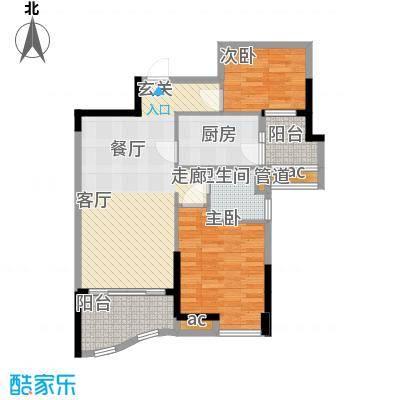 碧桂园温泉城J417D户型