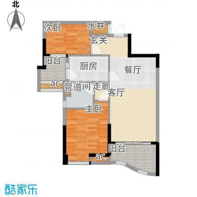 碧桂园温泉城J417C户型