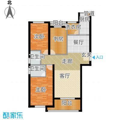 祥瑞东方城123.00㎡A1户型