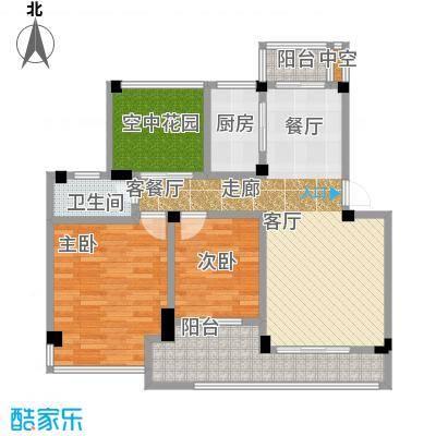 锦绣龙城八期鎏园91.00㎡63-70号楼D1户型