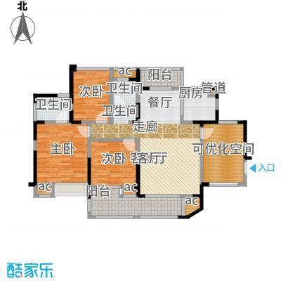 锦绣龙城八期鎏园118.00㎡C1户型