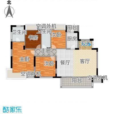 新世界恒大华府159.41㎡二期6、8号楼D1户型