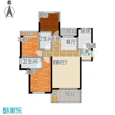金地艺境110.00㎡21、23、25、30号楼G5户型