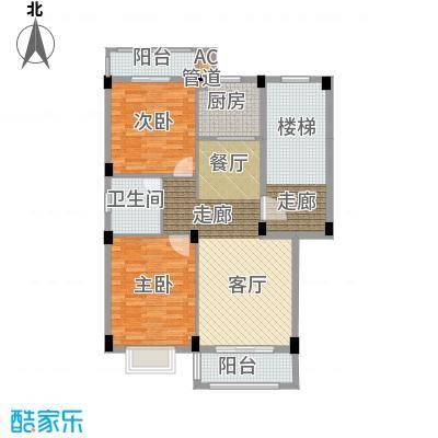 金谷鑫城三期71.88㎡二期1栋标准层C户型