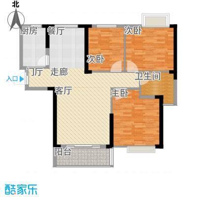 长航蓝晶国际102.70㎡三期14号楼M3户型