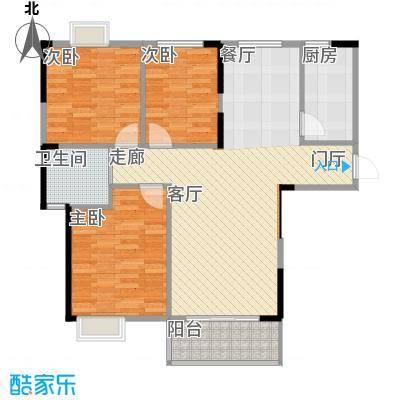 长航蓝晶国际101.29㎡三期10号楼M1户型