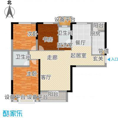 天宇万象国际154.56㎡3号楼4号楼C1户型