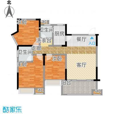 锦绣龙城八期鎏园116.00㎡D户型