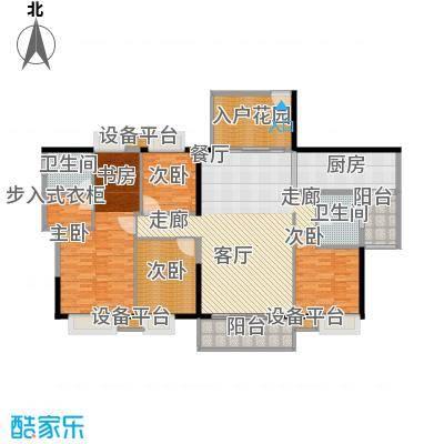 金泽华庭159.89㎡2面积15989m户型