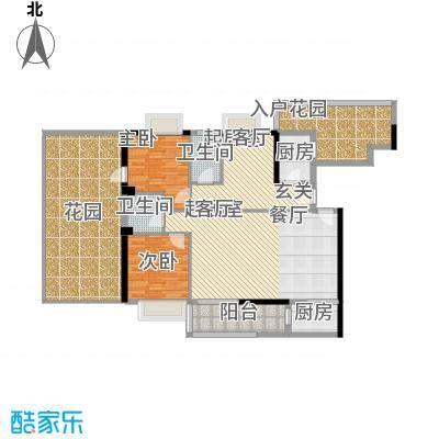 新塘广场A1栋07、08单元户型