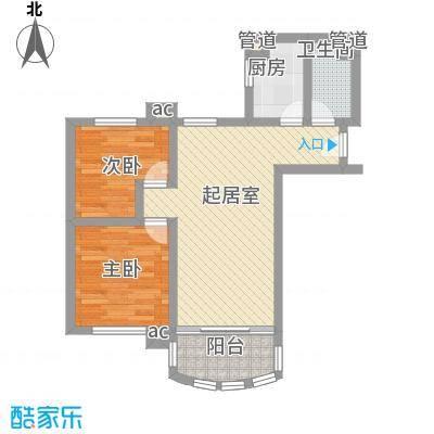 金碧花园碧水闲庭67.00㎡面积6700m户型