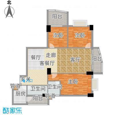金豪嘉苑136.86㎡面积13686m户型