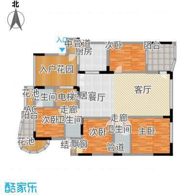 大学城馨园177.06㎡御府C1、C2-0面积17706m户型