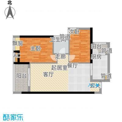 保利中环广场94.00㎡保利・中环广场F052面积9400m户型