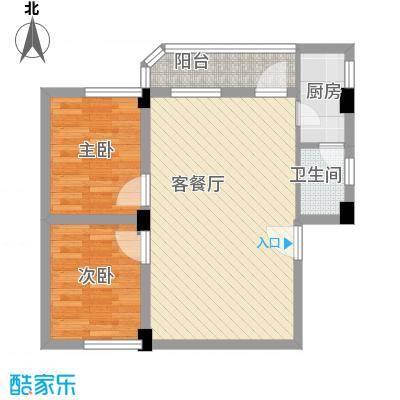 纵横白领公寓72.69㎡面积7269m户型