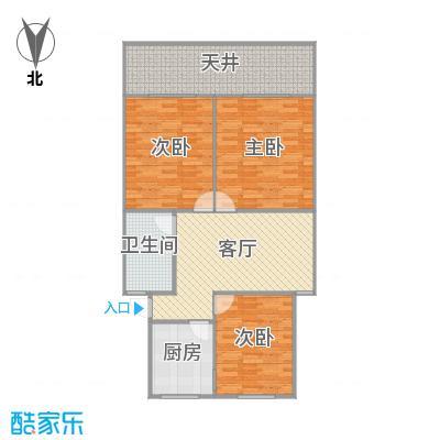 龙南六村的户型图