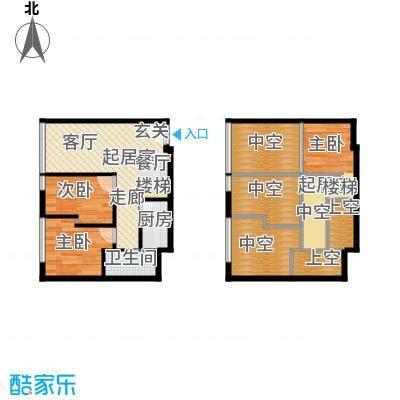 芒果公寓66.62㎡20793079面积6662m户型