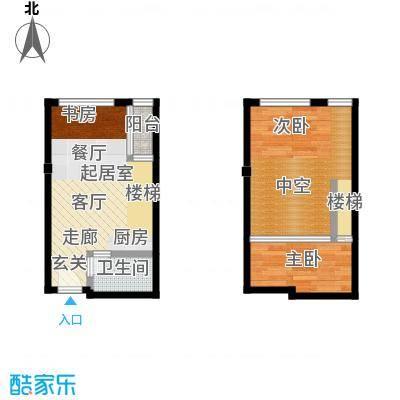 芒果公寓43.20㎡2023-2025-2027面积4320m户型