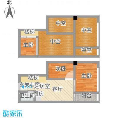 芒果公寓53.40㎡2016-3016面积5340m户型