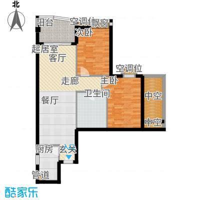 璟泰大厦87.46㎡�泰大厦A座9-31层6单位面积8746m户型