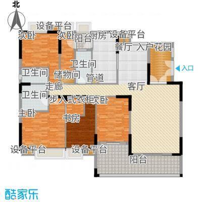 新大厦国际公寓户户型