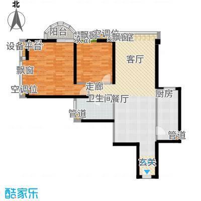 璟泰大厦100.29㎡�泰大厦B座9-29层1单位面积10029m户型