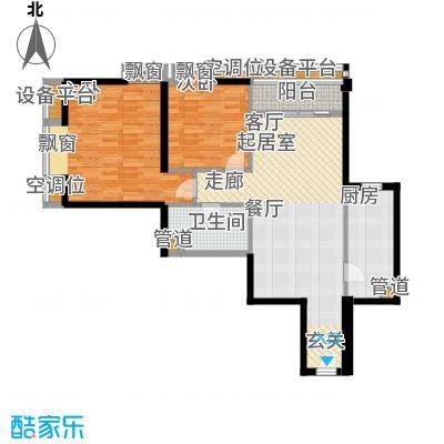 璟泰大厦98.55㎡�泰大厦B座30-31层012面积9855m户型