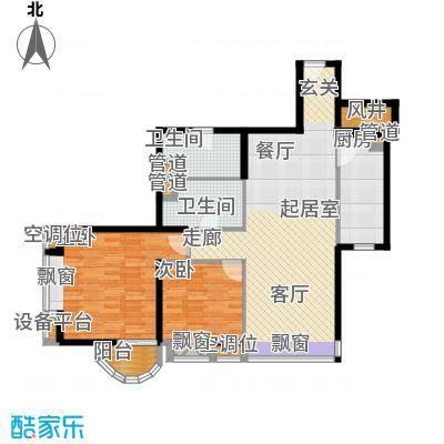 璟泰大厦96.40㎡�泰大厦B座9-29层4单位面积9640m户型